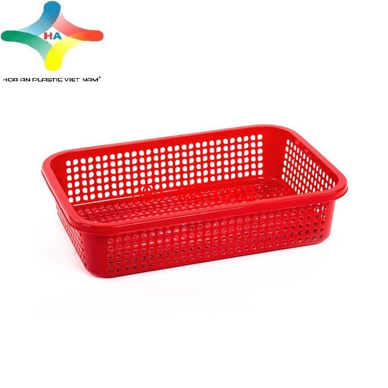 Sóng nhựa (rổ nhựa) lưới nhỏ