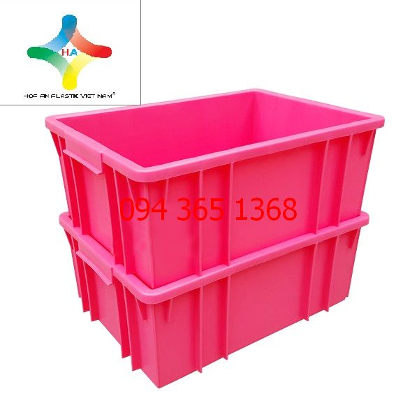 Thùng nhựa đặc (sóng nhựa bít) B3