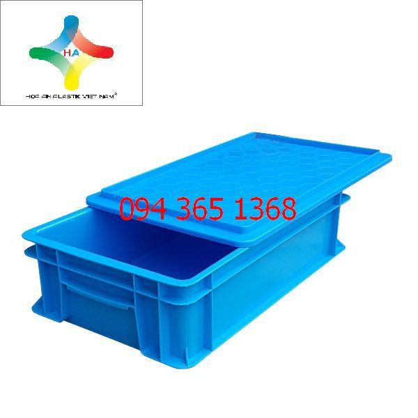Thùng nhựa đặc (sóng nhựa bít) B2