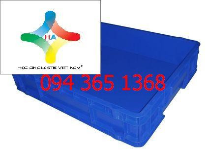 Thùng nhựa đặc (sóng nhựa bít) DCS104