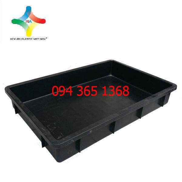 Thùng nhựa đặc (sóng nhựa bít) YM007