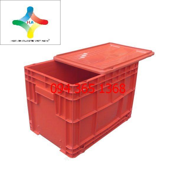 Thùng nhựa đặc (sóng nhựa bít) DCS403