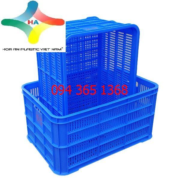 Thùng nhựa rỗng (sóng nhựa hở) HS004