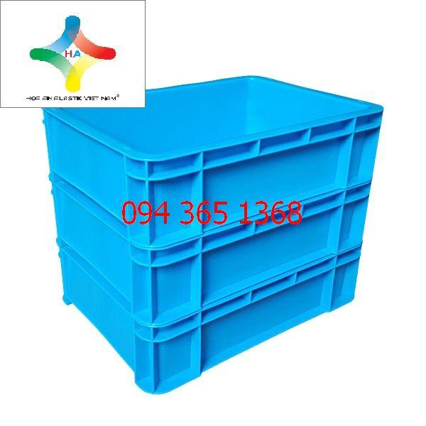 Thùng nhựa đặc (sóng nhựa bít) B12