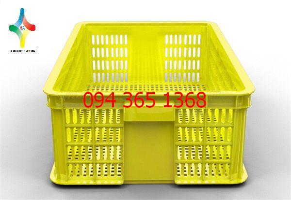 Thùng nhựa rỗng (sóng nhựa hở) HS009-SH
