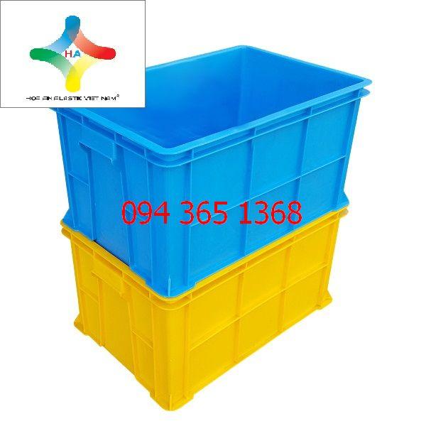 Thùng nhựa đặc (sóng nhựa bít) B5