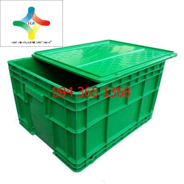 Thùng nhựa đặc (sóng nhựa bít) DCS101