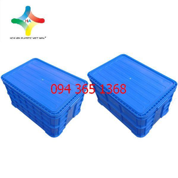 Thùng nhựa đặc (sóng nhựa bít) 3T1