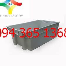 Thùng nhựa đặc (sóng nhựa bít) YM022
