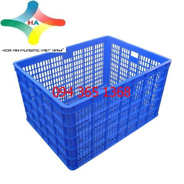 Thùng nhựa rỗng (sóng nhựa hở) HS015