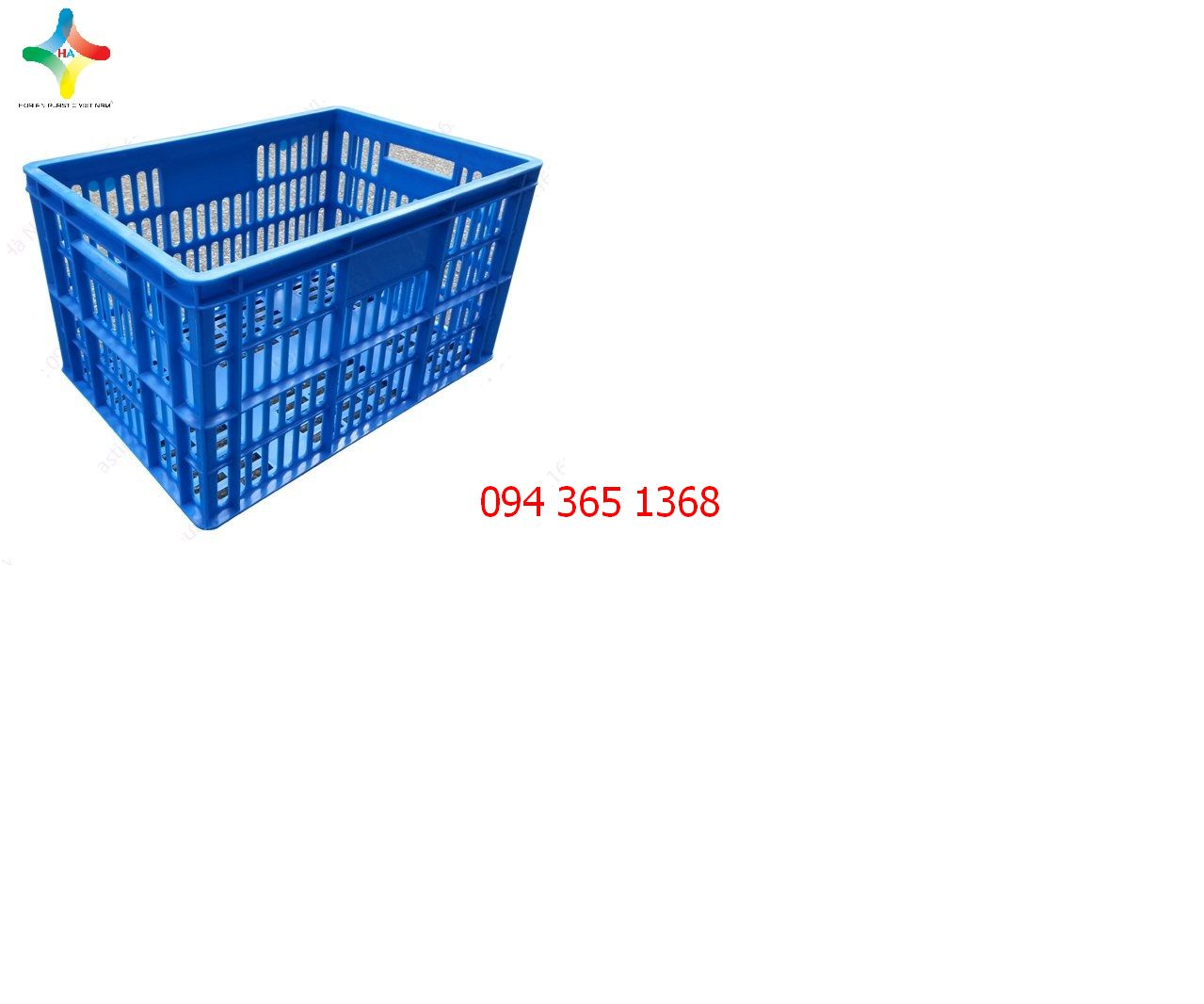 Thùng nhựa rỗng (sóng nhựa hở) QL029