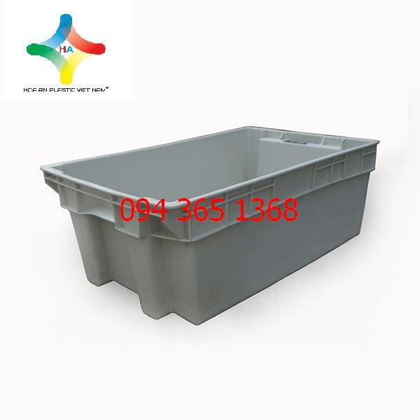 Thùng nhựa đặc (sóng nhựa bít) YM002