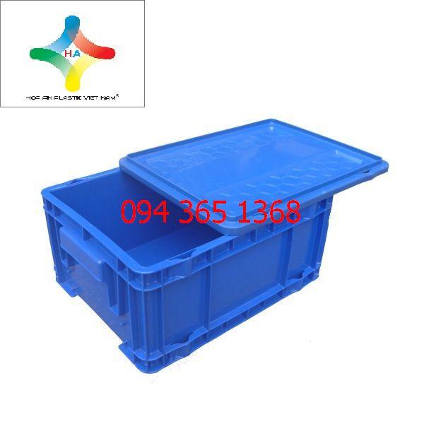 Thùng nhựa đặc (sóng nhựa bít) DCS504