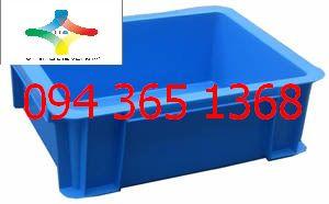 Thùng nhựa đặc (sóng nhựa bít) B7