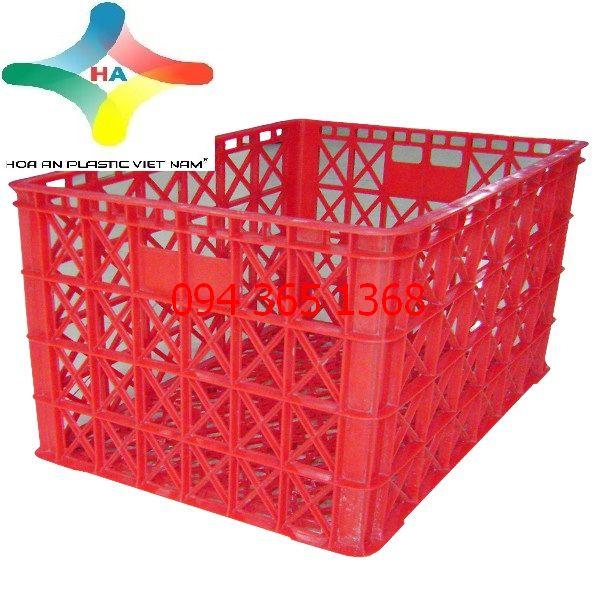 Thùng nhựa rỗng (sóng nhựa hở) HS022