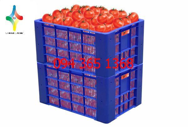 Thùng nhựa rỗng (sóng nhựa hở) HS030-SH
