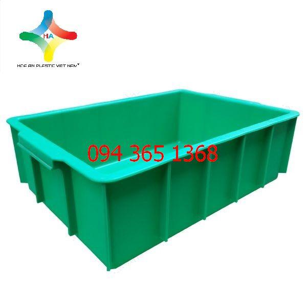 Thùng nhựa đặc (sóng nhựa bít) YM003
