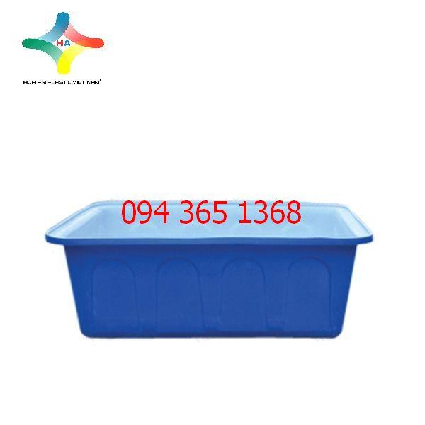 Thùng nhựa chữ nhật (Thùng nhựa nuôi cá) 200