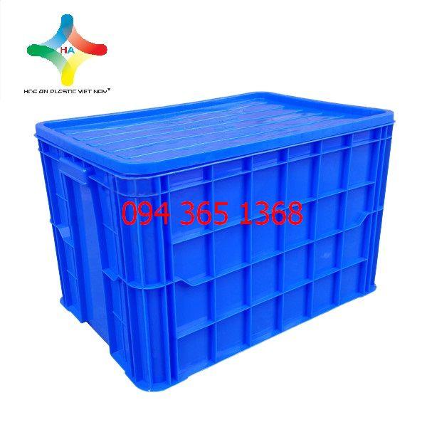 Thùng nhựa đặc (sóng nhựa bít) HS026