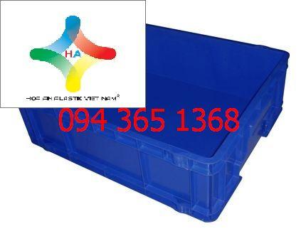 Thùng nhựa đặc (sóng nhựa bít) DCS103
