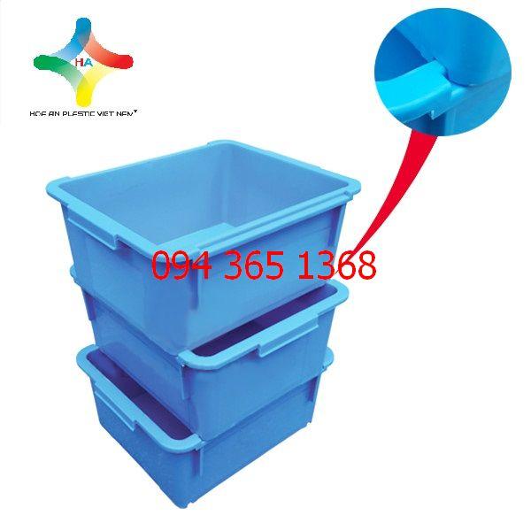 Thùng nhựa đặc (sóng nhựa bít) A3