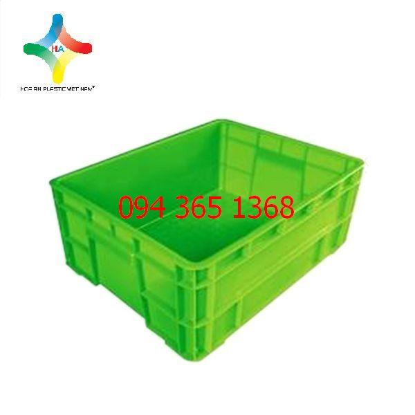 Thùng nhựa đặc (sóng nhựa bít) KPT02
