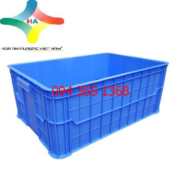 Thùng nhựa đặc (sóng nhựa bít) HS017