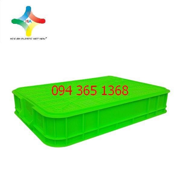 Thùng nhựa đặc (sóng nhựa bít) HS025
