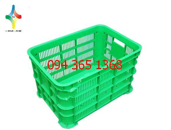 Thùng nhựa rỗng (sóng nhựa hở) 45