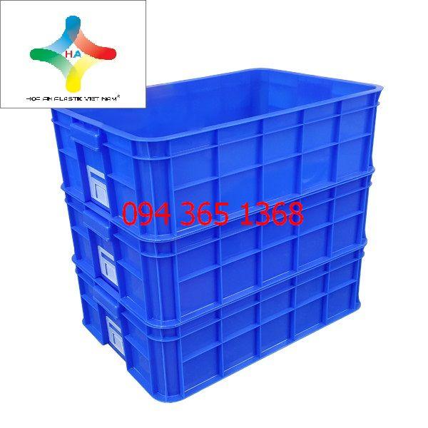 Thùng nhựa đặc (sóng nhựa bít) HS003
