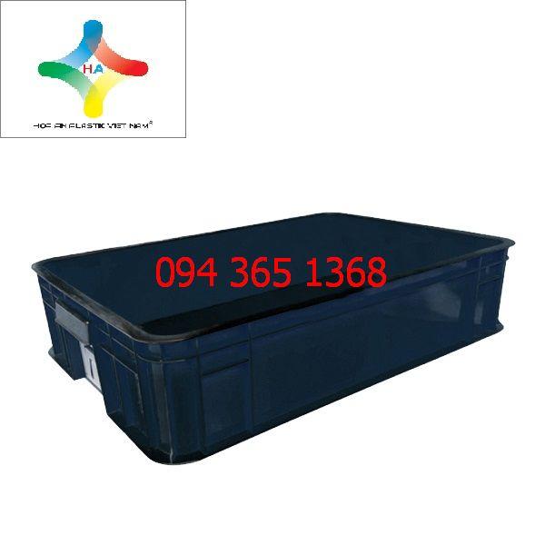 Thùng nhựa đặc (sóng nhựa bít) HS007