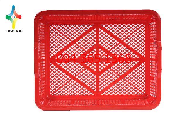 Thùng nhựa rỗng (sóng nhựa hở) vuông DDT